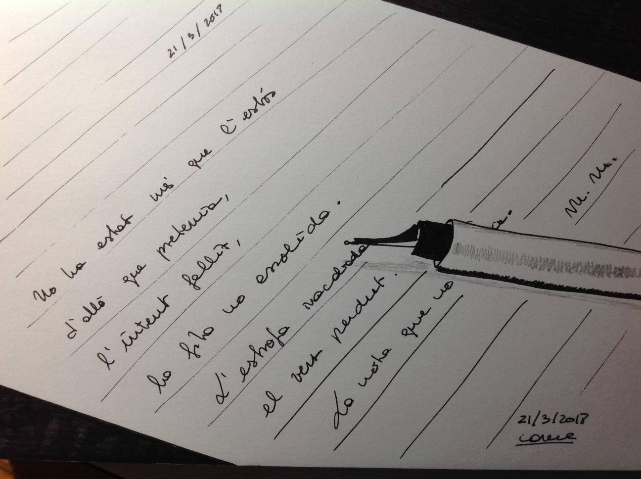 La carta del passat